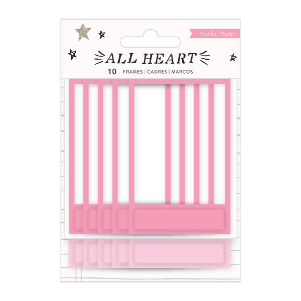 Crate Paper - All Heart - Puffy Frames