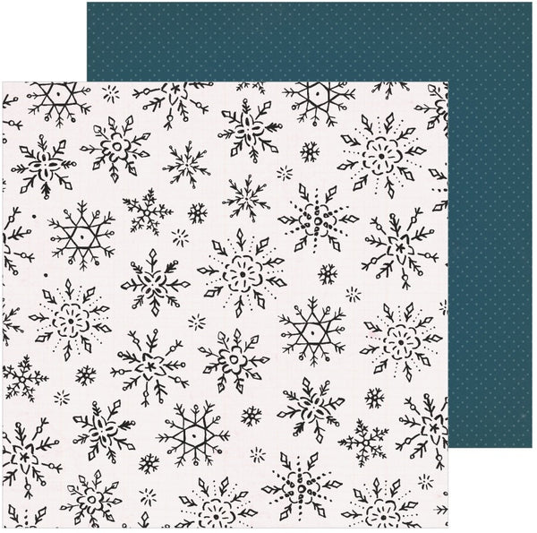Crate Paper - Snowflake - Winterscape