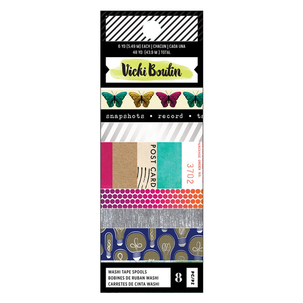 Vicki Boutin - Colour Kaleidoscope - Washi Tape Set