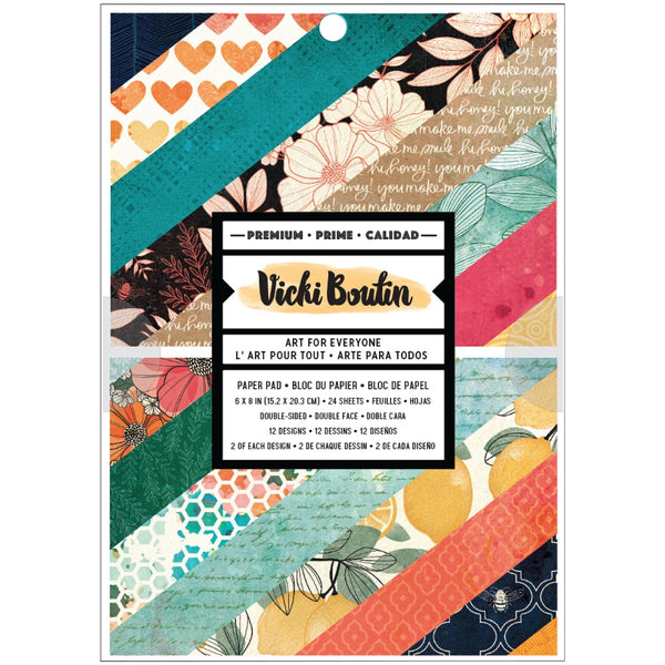 *PREORDER - Vicki Boutin - Wildflower & Honey - 6 x 8 Paper Pad