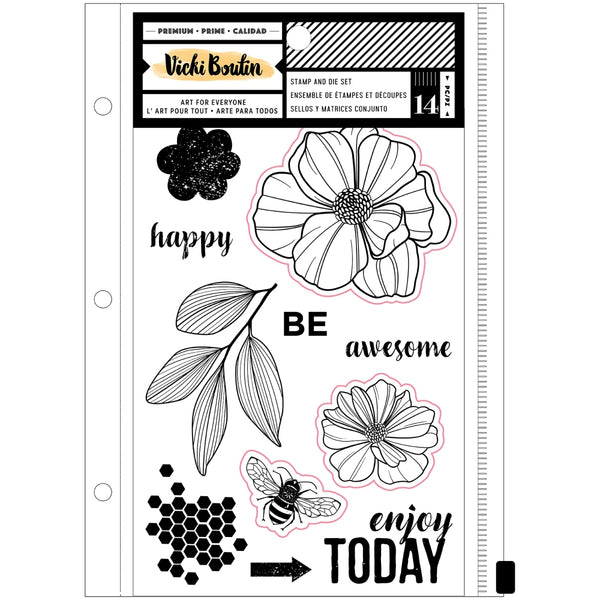 Vicki Boutin - Wildflower & Honey - Wildflower Stamp & Die Set