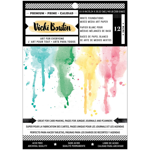 * PREORDER - Vicki Boutin - Wildflower & Honey - 6 x 8 Foundations Paper Pad