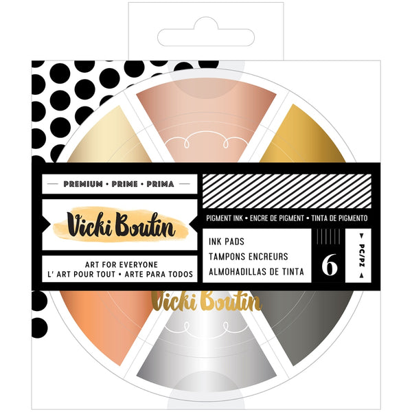 *PREORDER - Vicki Boutin - Wildflower & Honey - Metallics Colour Wheel Pigment Ink