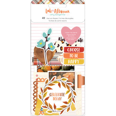 Amy Tangerine - Late Afternoon - Ephemera Pack