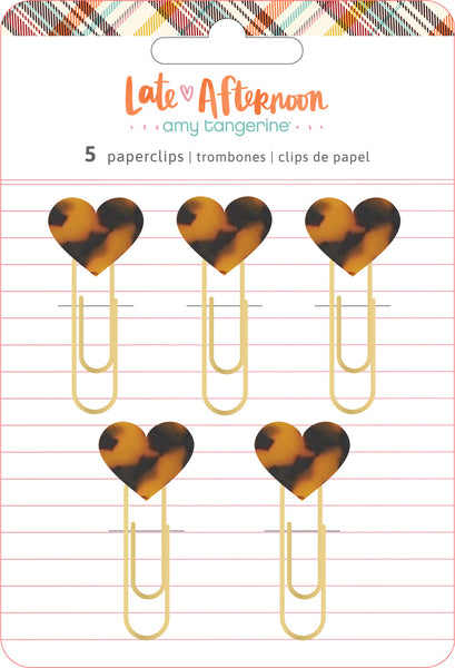Amy Tangerine - Late Afternoon - Paperclips pack