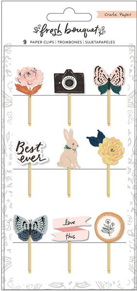 Crate Paper - Fresh Bouquet - Paper Clips