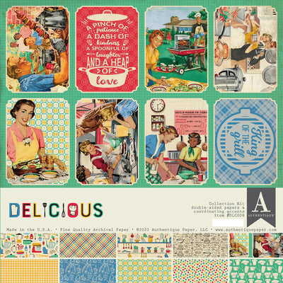 Authentique - Delicious - 12x12 Collection Kit
