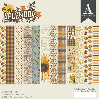Authentique - Splendor - 6x6 Paper Pad
