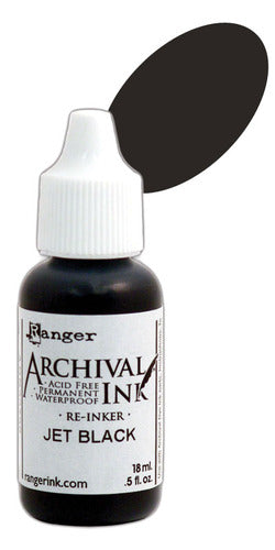Ranger - Archival Ink - Jet Black REINKER