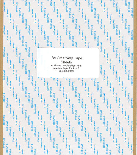 BE CREATIVE SHEETS, 5 PK (8X11)