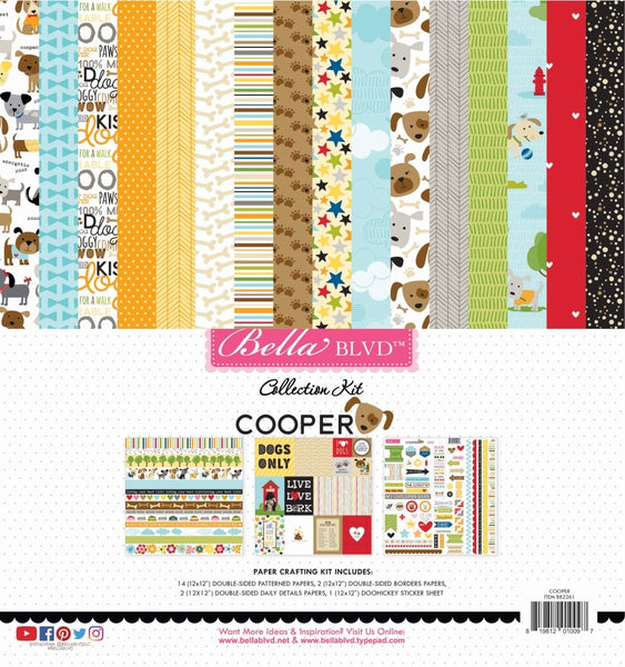 Bella Blvd - Cooper - 12 x 12 Collection Kit