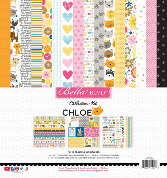Bella Blvd - Chloe - 12 x 12 Collection Kit