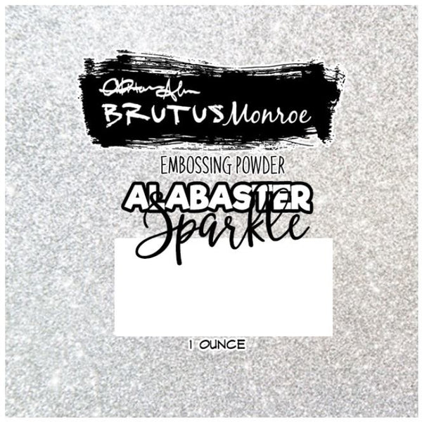 Brutus Monroe - Alabaster Sparkle - Embossing Powder