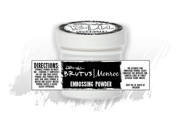 Brutus Monroe - Alabaster White - Ultra Fine Embossing Powder