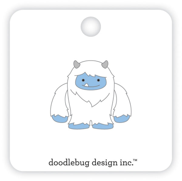 Doodlebug Design - Winter Wonderland - Yeti Collectable Pin