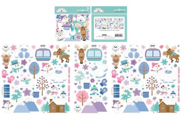 Doodlebug Design - Winter Wonderland - Odds & Ends pack