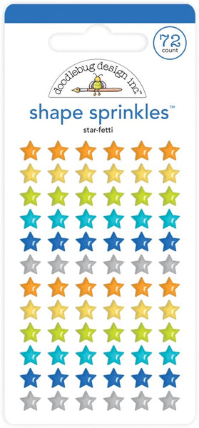 Doodlebug Design - Shape Sprinkles - Star-fetti