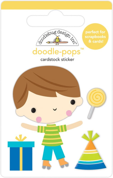 Doodlebug Design - Doodle-Pops - Birthday Boy