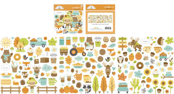 Doodlebug Designs - Pumpkin Spice - Odds & Ends Die Cuts