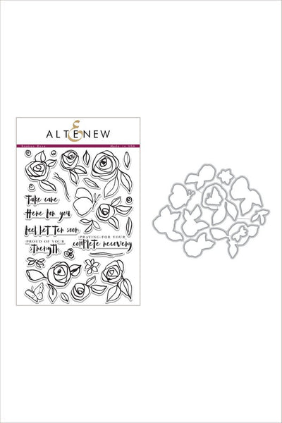 Altenew - Bamboo Rose - Stamp & Die Bundle