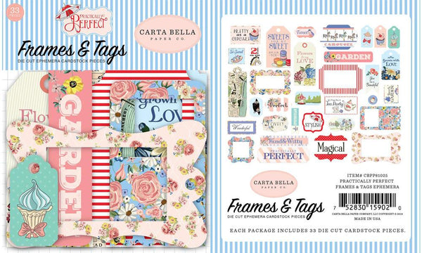 Carta Bella - Practically Perfect - Frames & Tags