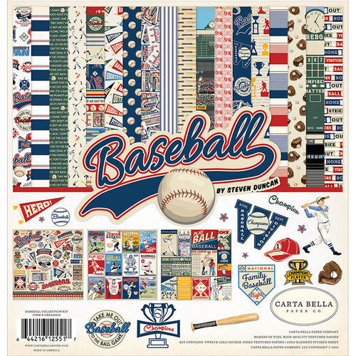 Carta Bella - Baseball - Collection Kit