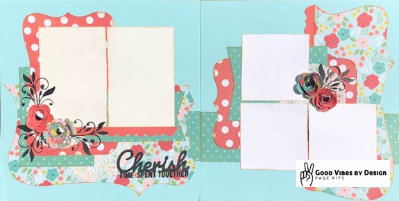 Good Vibes By Design - Cherish - Page Kit