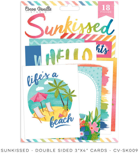 PRE ORDER - Cocoa Vanilla Studio - Sunkissed - Pocket Cards