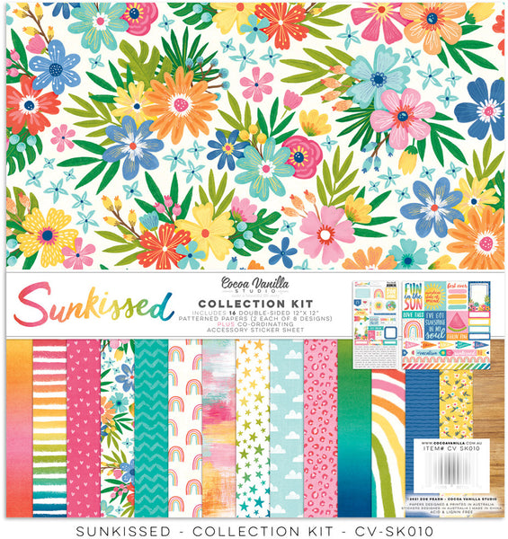 Cocoa Vanilla Studio - Sunkissed - 12x12 Collection kit