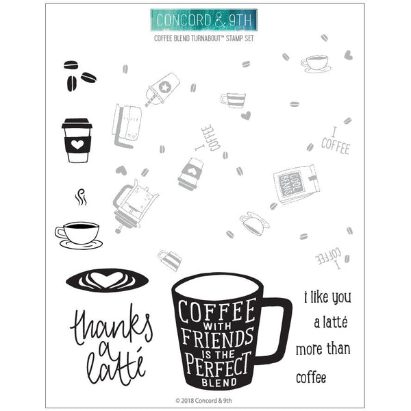 Concord & 9th - Coffee Blend - Stamp Set