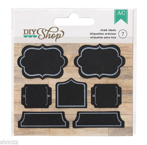American Crafts - DIY Shop - Chalkboard Labels