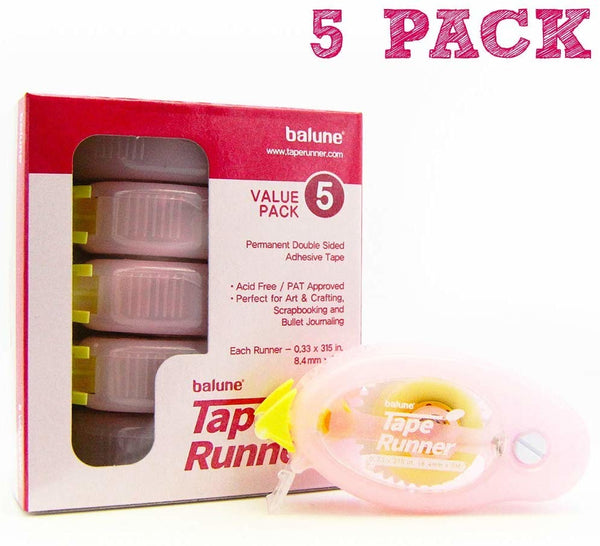 Balune - Adhesive Tape Runner - Value Pack