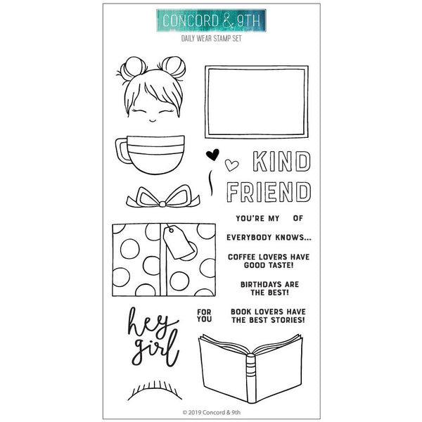 Concord & 9th - Daily Wear - Stamp Set