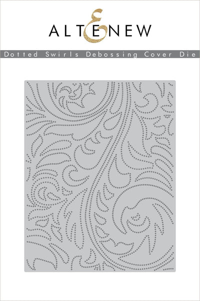 Altenew - Dotted Swirls Debossing Cover Die