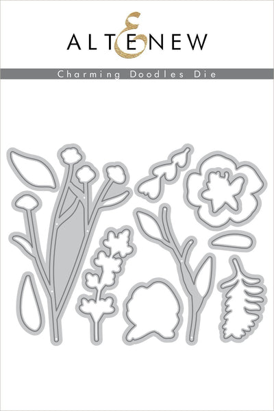Altenew - Charming Doodles Die Set