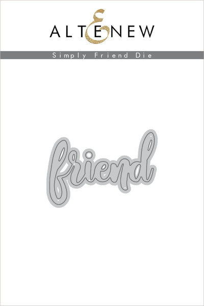 Altenew - Simply Friend Die