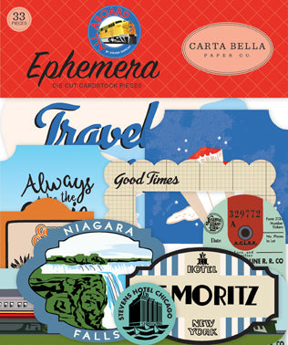 Carta Bella - All Aboard - Ephemera