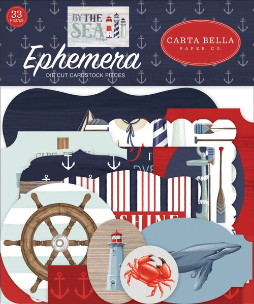 Carta Bella - By The Sea - Ephemera Pack