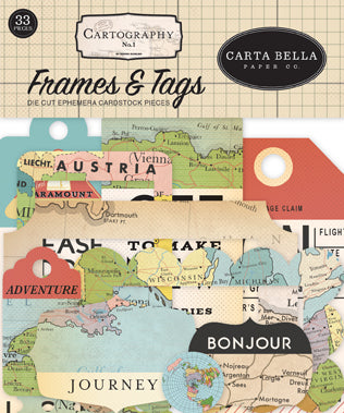 Carta Bella - Cartography - Frames and Tags