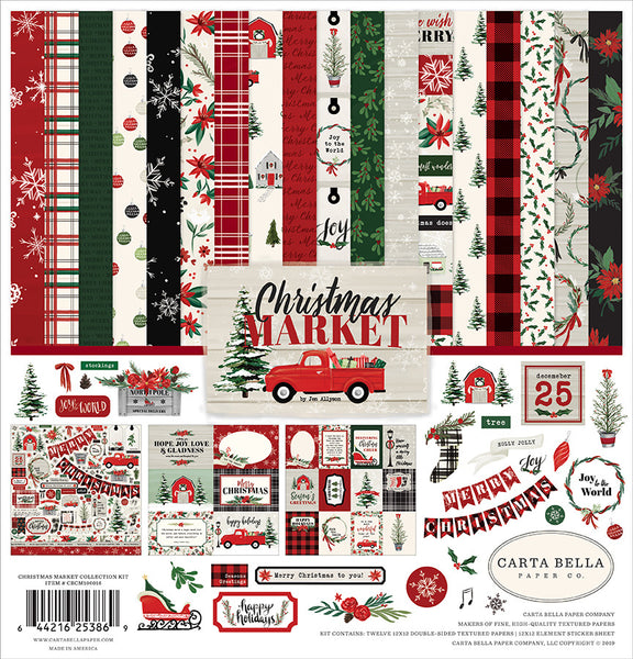 Carta Bella - Christmas Market - Collection Kit