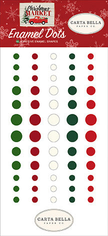 Carta Bella - Christmas Market - Enamel Dots