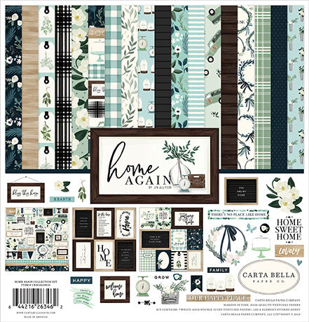 Carta Bella - Home Again - Collection Kit