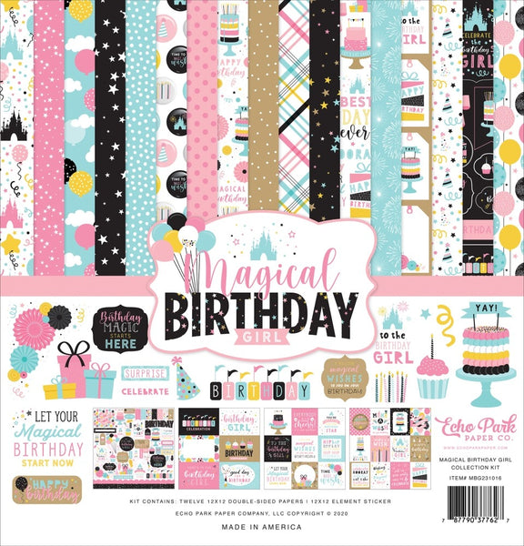 Echo Park - Magical Birthday Girl - 12 x 12 Collection Kit