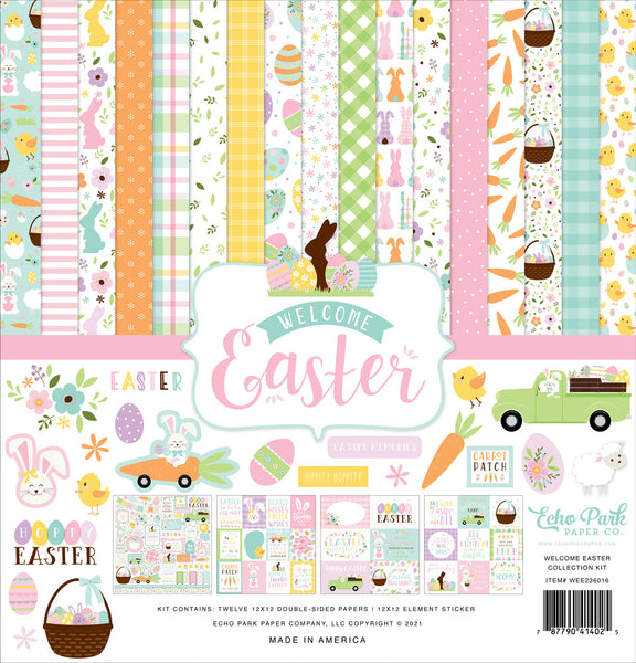 Echo Park - Welcome Easter - 12 x 12 Collection Kit