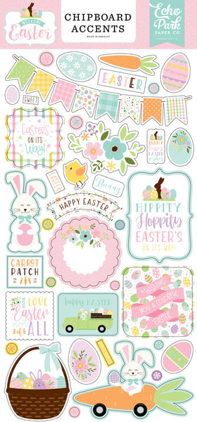 Echo Park - Welcome Easter - Chipboard Accents