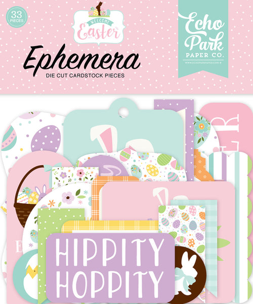 Echo Park - Welcome Easter - Ephemera Pack