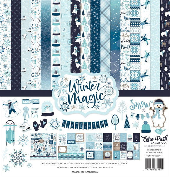Echo Park - Winter Magic - 12 x 12 Collection Kit