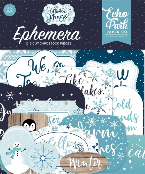 Echo Park - Winter Magic - Ephemera Pack