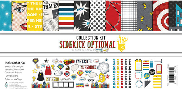 Fancy Pants - Sidekick Optional - Collection Kit