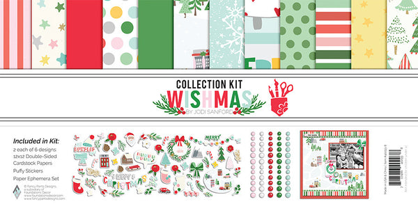 Fancy Pants - Wishmas - Collection Kit